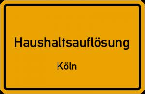Haushaltsauflösung Köln